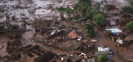 APTOPIX Brazil Dam Bursts